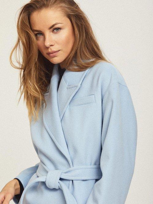 голубое пальто charuel